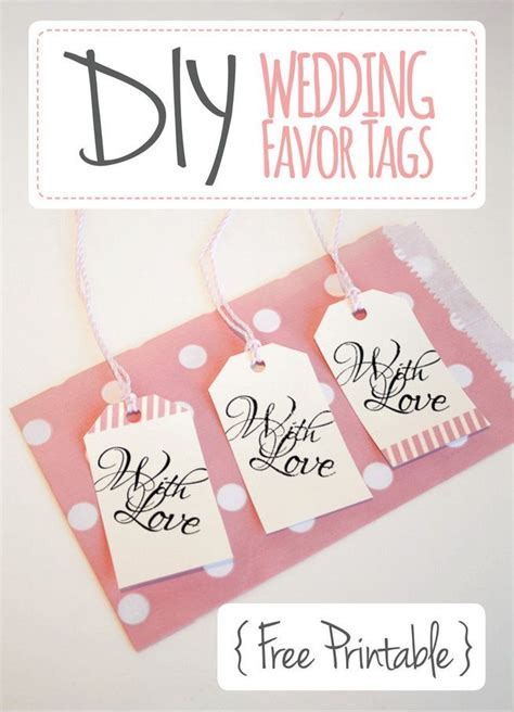 printable engagement tags wedding favor tags with love luggage tag printable