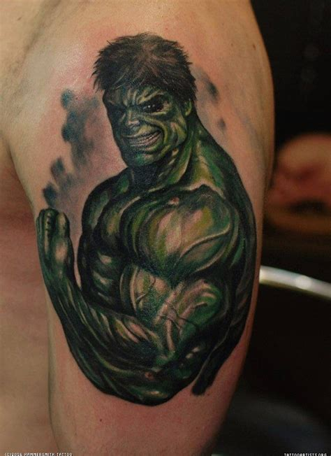 incredible hulk tattoos pics photos color n more