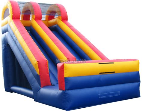 blow up bounce house bouncerland inflatable slide 2065
