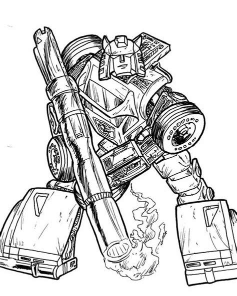 download transformer coloring pages free coloring pages of starscream transformer