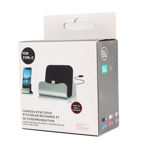 Desktop Universal Charger Delcell universal charging dock station desktop charger sync data usb cable for type c