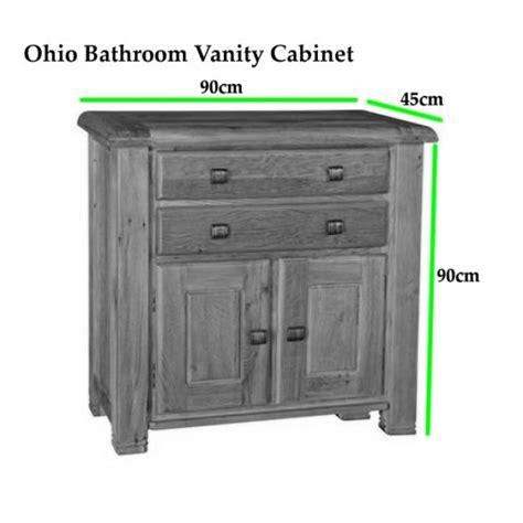 oak bathroom vanity unit ohio rustic oak bathroom cabinet vanity unit click oak
