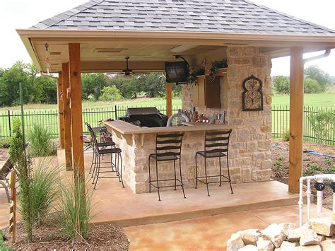 Backyard Kitchen Ideas by Outdoor Kitchens Fort Worth Outdoor Fire Place