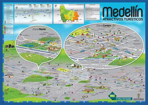 medellin map mapa medellin colombia