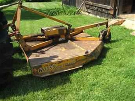 Used Farm Tractors For Sale Woods Mower 2009 06 09