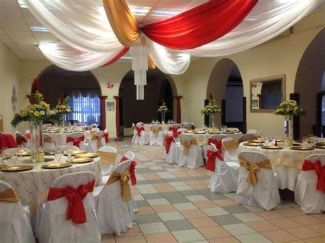 decoracion rojo y dorado decoracion para evento colores rojo blanco y dorado