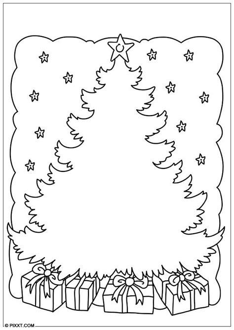 dibujo para colorear 225 rbol de navidad img 28179