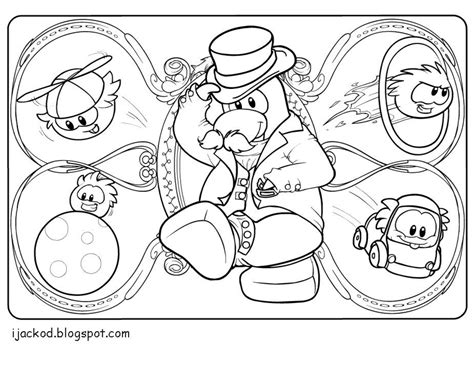 coloring pages club penguin printable club penguin coloring pages of puffles az coloring pages
