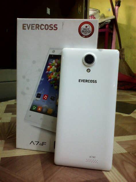 Evercoss A74f jual handphone hp evercoss a74f quadcore support bbm
