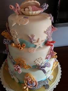 the sea themed baby shower cake cakes