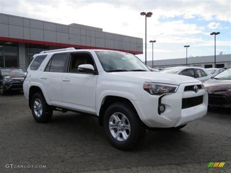2017 White Toyota 4runner Sr5 Premium 4x4 118132730