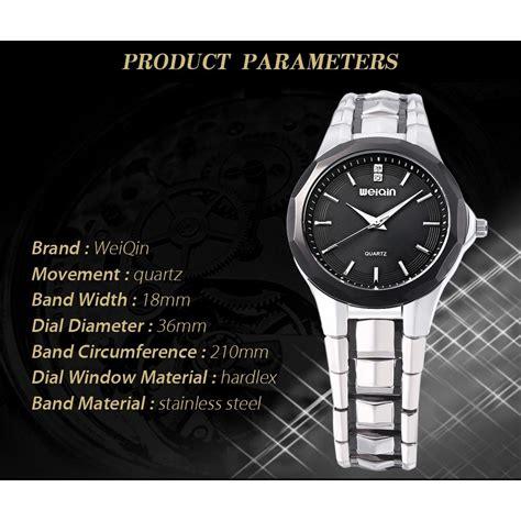 Jam Tangan Wanita 1281 Silver Analog weiqin jam tangan analog wanita wei100 white silver