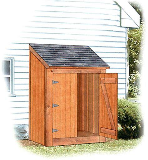 lean  storage building plans  woodworking
