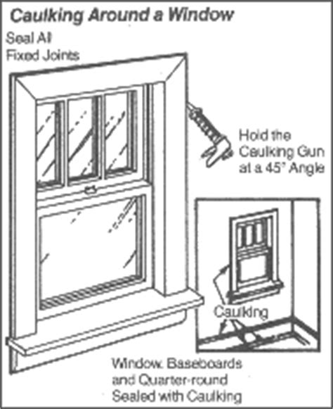 interior window caulking coloradoenergy org home energy checklist