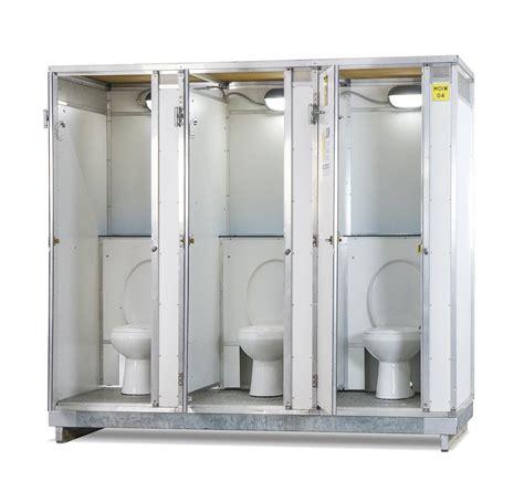 bagno wc noleggio bagno idrico chimico modulo 3 wc
