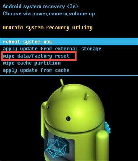 reset android button how to factory reset your android smartphone