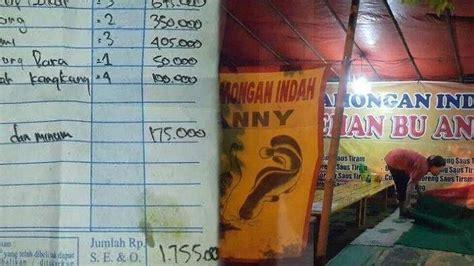 viral warung seafood harganya mahal  beredar nota