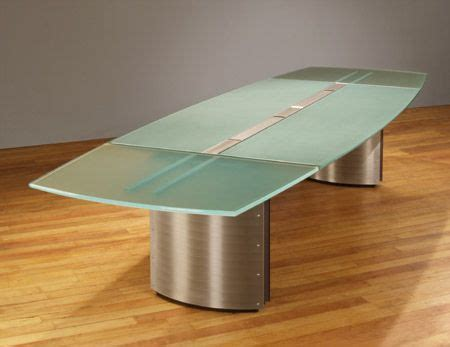 Frosted Glass Conference Table Frosted Glass Conference Table Work Pinterest