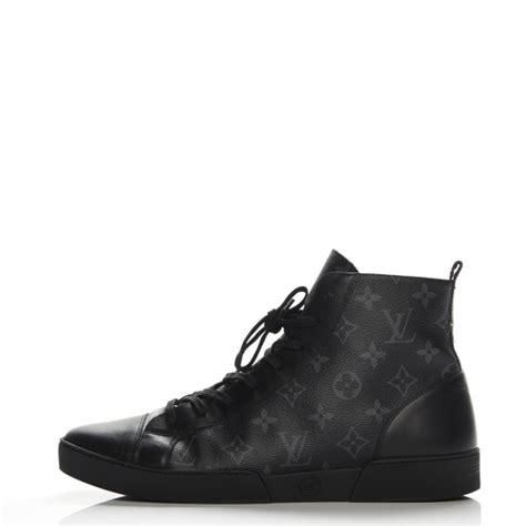 Sneaker Lv Trocadero Monogram Eclipse louis vuitton mens monogram eclipse match up sneakers 8 5 black 207843