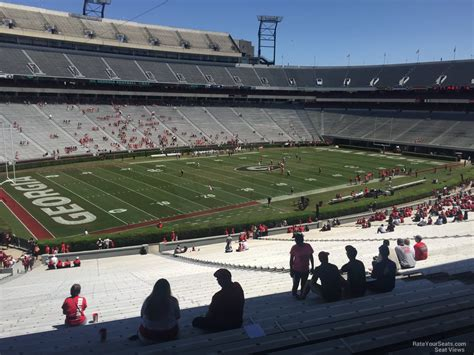 what is section 136 sanford stadium section 136 rateyourseats com