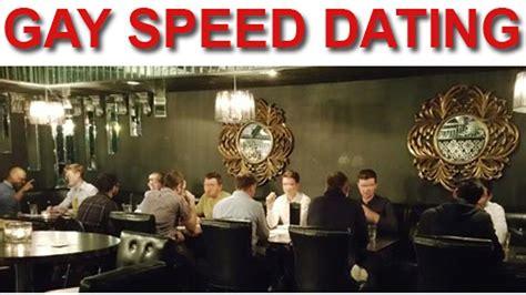 Speed dating london gay community