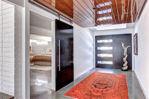 Modern Barn Doors Entry Contemporary With Barn Door Contemporary Barn Door