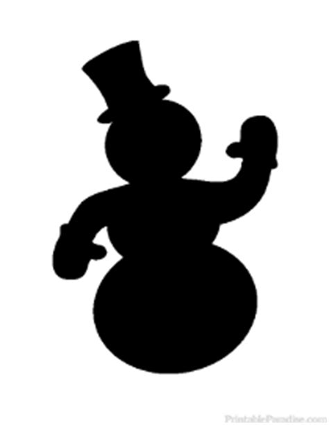 printable christmas silhouettes coloring snowman search results calendar 2015