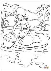 coloring page indian girl indian girl coloring page free printable coloring pages