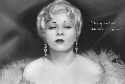 Mae West by Greenbriar Picture Shows