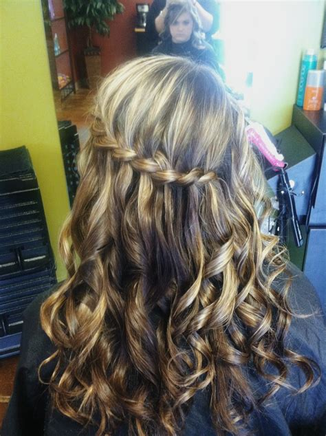 simple hoco hairstyles 97 best images about hoco hair on pinterest bridal hair