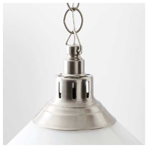 kroby pendant l nickel plated glass ikea
