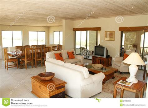 Open Plan Dining And Living Room by Open Plan Living Room And Dining Area Stock Images Image 21725204