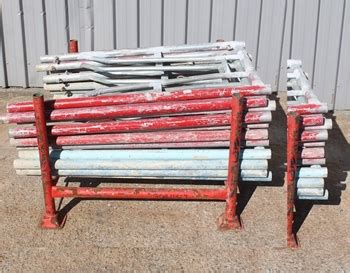 a frames for sale stillage of scaffolding quot a quot frames auction 0004 9003157