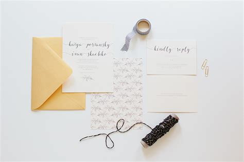 Simple Wedding Stationery by Wedding Stationery Simple Leaf