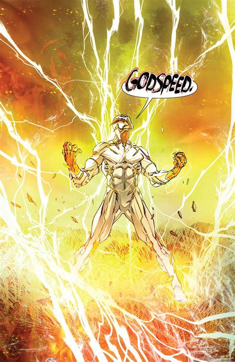 the flash colors godspeed character comic vine