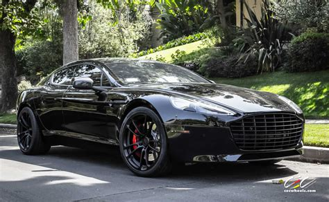aston martin blacked out aston martin rapide s with cec forged wheels and black out