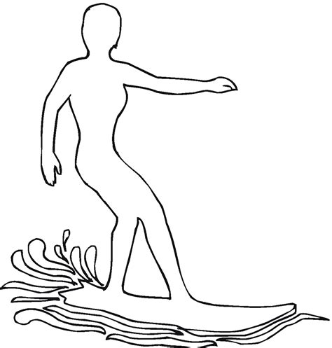 coloring pages surfer girl free coloring pages of surf girl