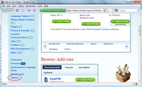 change themes on mozilla change mozilla firefox theme