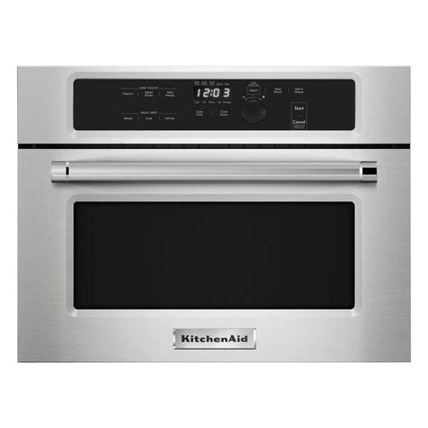 Kitchen Aid Microwaves by Kitchenaid 1 4 Cu Ft Built In Microwave In Stainless