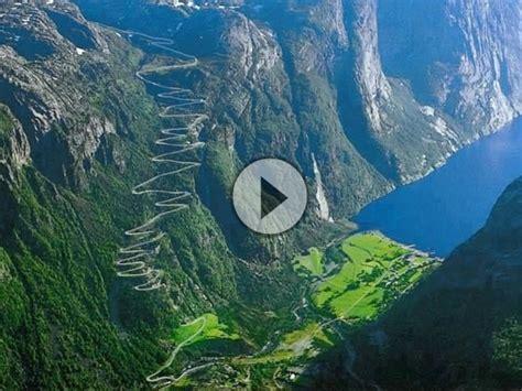 Motorrad Verkauf Nach Norwegen by Lysevegen Lysebotn Norwegen Schwindelig Kurven