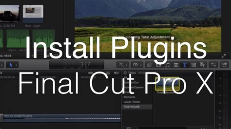final cut pro x plugins how to install plugins for final cut pro x youtube
