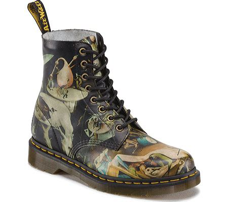 Dr Martens Pascal Hell 8uk dr martens pascal 8 eye boot heaven and hell disc free