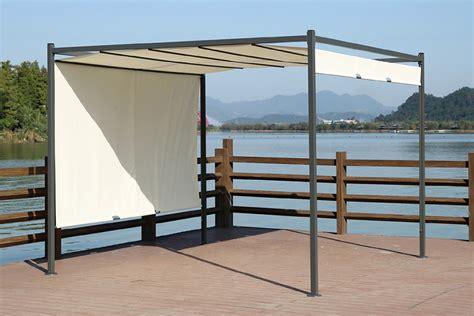 tende gazebo gazebo con tenda scorrevole pontal di papillon