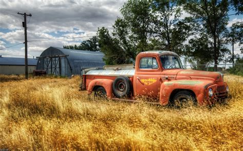 rusty pickup truck old rusted truck wallpapers old rusted truck stock photos
