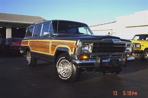 1989 jeep wagoneer for sale 1989 jeep grand wagoneer car interior design