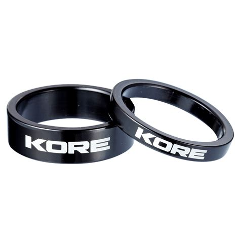 kore headset spacers h s white ltd