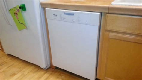 How To Build A Cabinet Around A Dishwasher by Miele G4205scu Dishwasher Installation Thoughts And Review