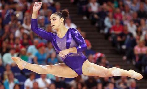 2012 olympics gymnastics gymnasts used to be