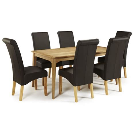 large kitchen tables rectangular betrice large dining table rectangular in solid oak 25894