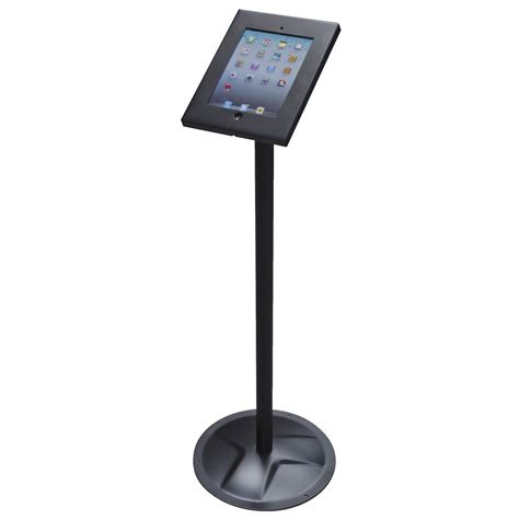 ipad easel ipad floor stand pos enclosure bluering system